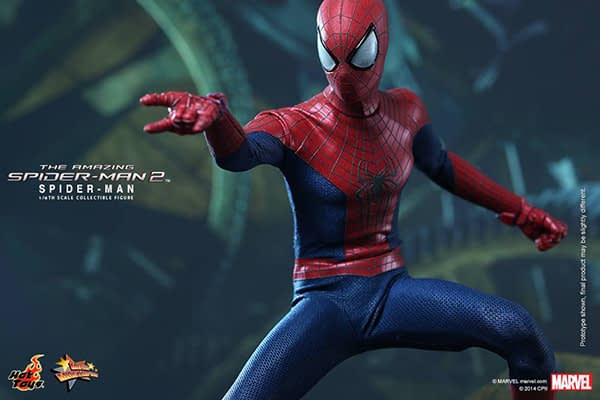 Preview   Hot Toys: Spider-Man (The Amazing Spider-Man 2) (15)
