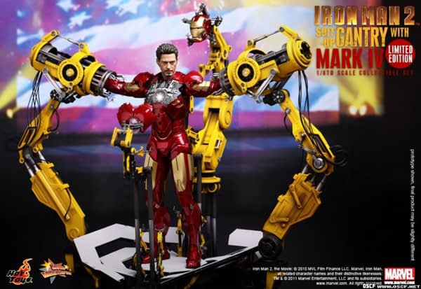 Preview | Hot Toys: Ironman 2 Limited Edition Suit Up Gantry (6)