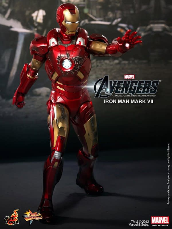 Preview | Hot Toys: Ironman Mark VII (21)