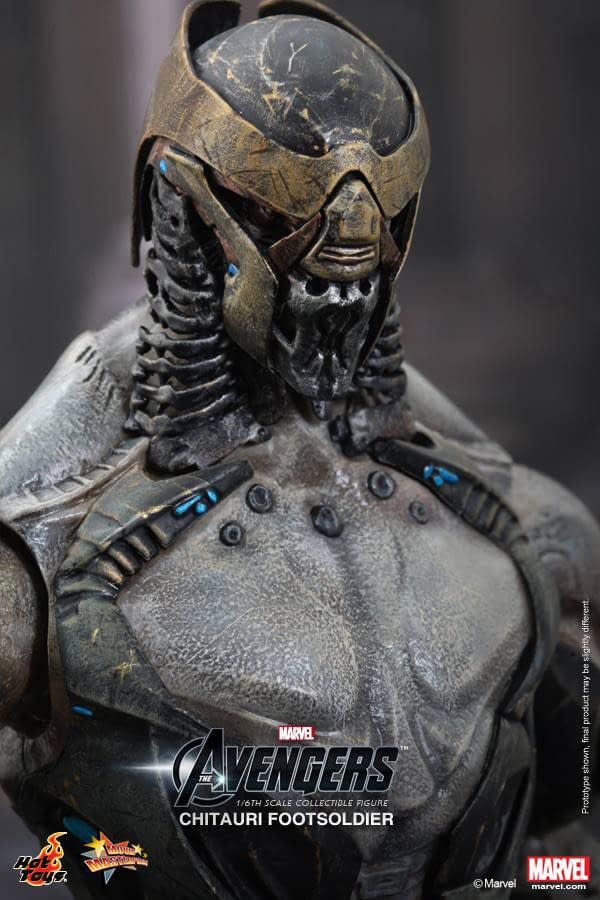 Preview | Hot Toys: Chitauri Footsoldier (9)