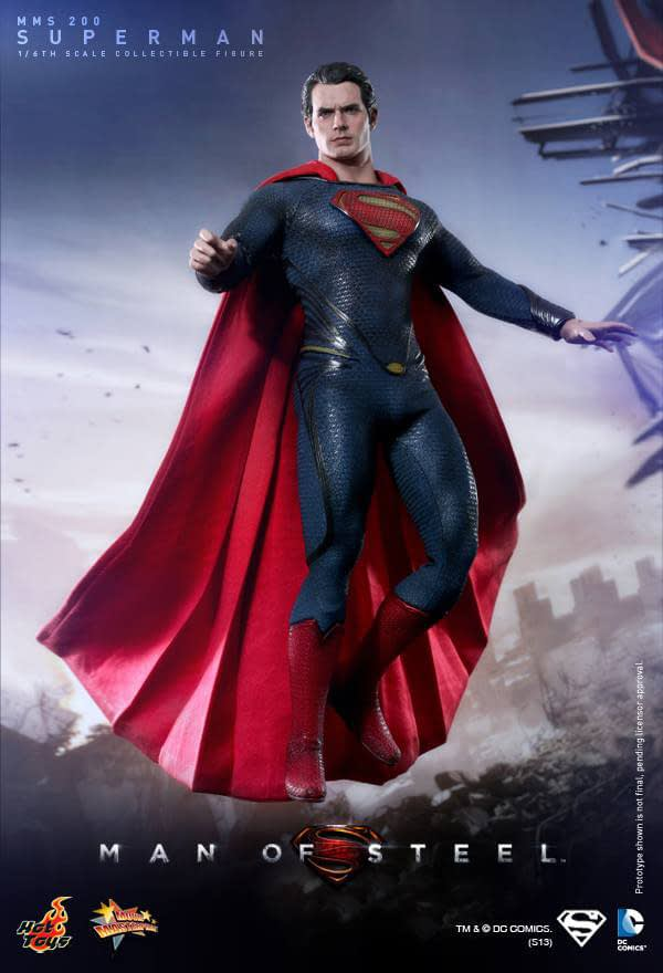 Preview | Hot Toys: Superman (Man Of Steel) (5)