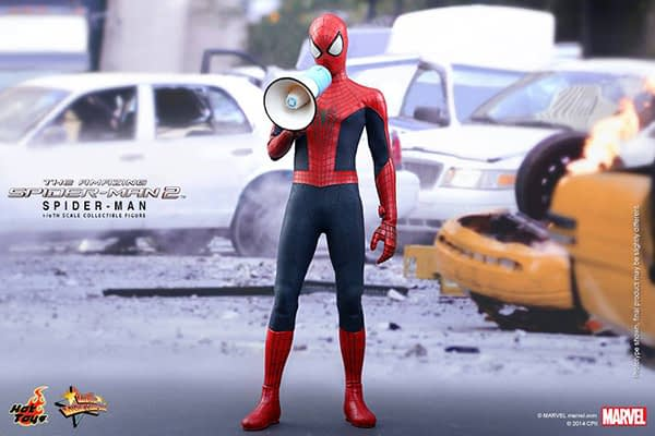 Preview   Hot Toys: Spider-Man (The Amazing Spider-Man 2) (5)
