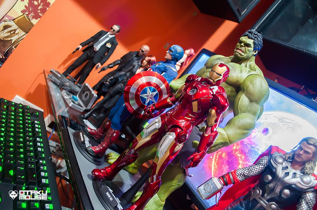 Hot Toys Avengers Line Complete (5)