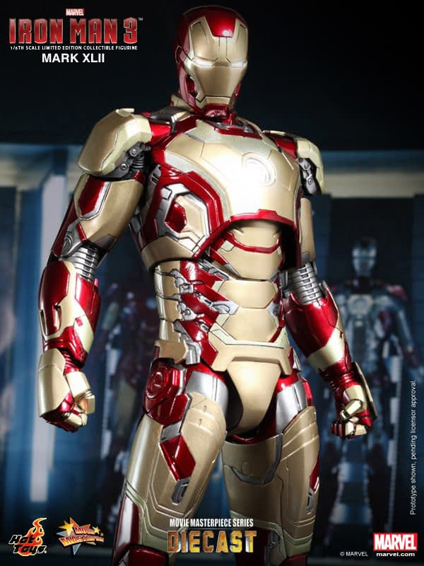 Preview | Hot Toys: Iron Man Mark XLII (Diecast) (4)