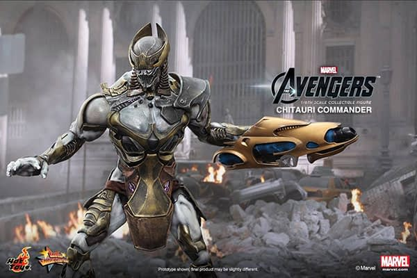 Preview   Hot Toys: Chitauri Commander (11)