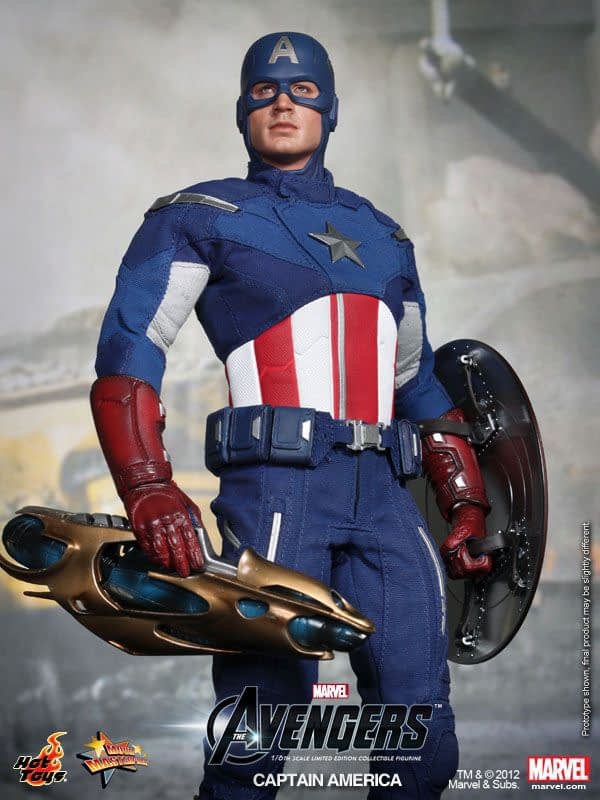 Preview   Hot Toys: Captain America (Avengers) (10)