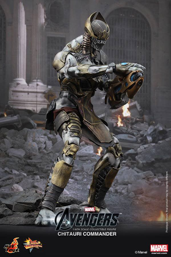 Preview   Hot Toys: Chitauri Commander (4)