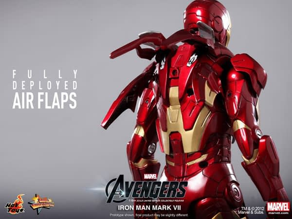 Preview | Hot Toys: Ironman Mark VII (12)