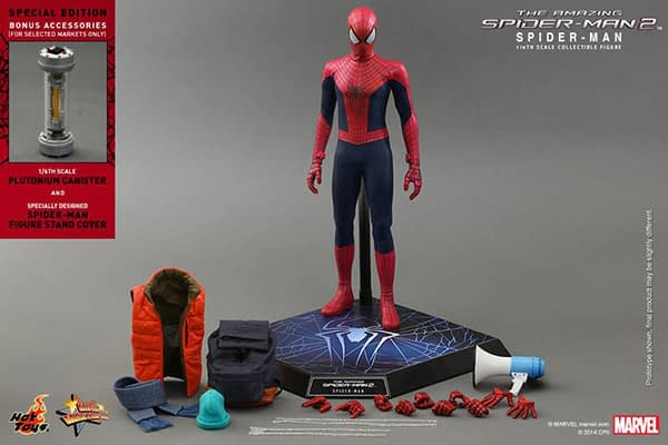 Preview   Hot Toys: Spider-Man (The Amazing Spider-Man 2) (18)