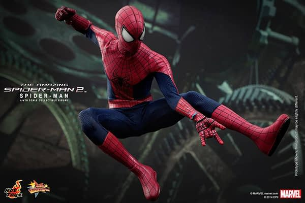 Preview   Hot Toys: Spider-Man (The Amazing Spider-Man 2) (12)