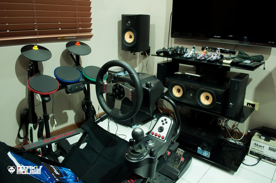Playseat Challenge and Logitech's G27 Combo (8)