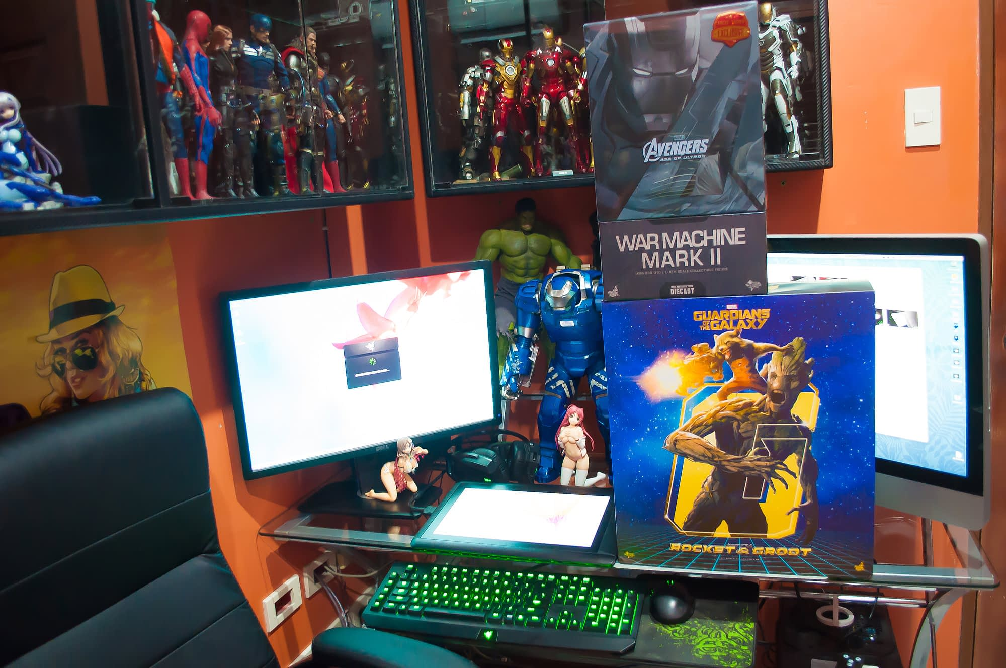 Loot Report - Rocket, Groot and Diecast Warmachine (A.O.U.) (1)