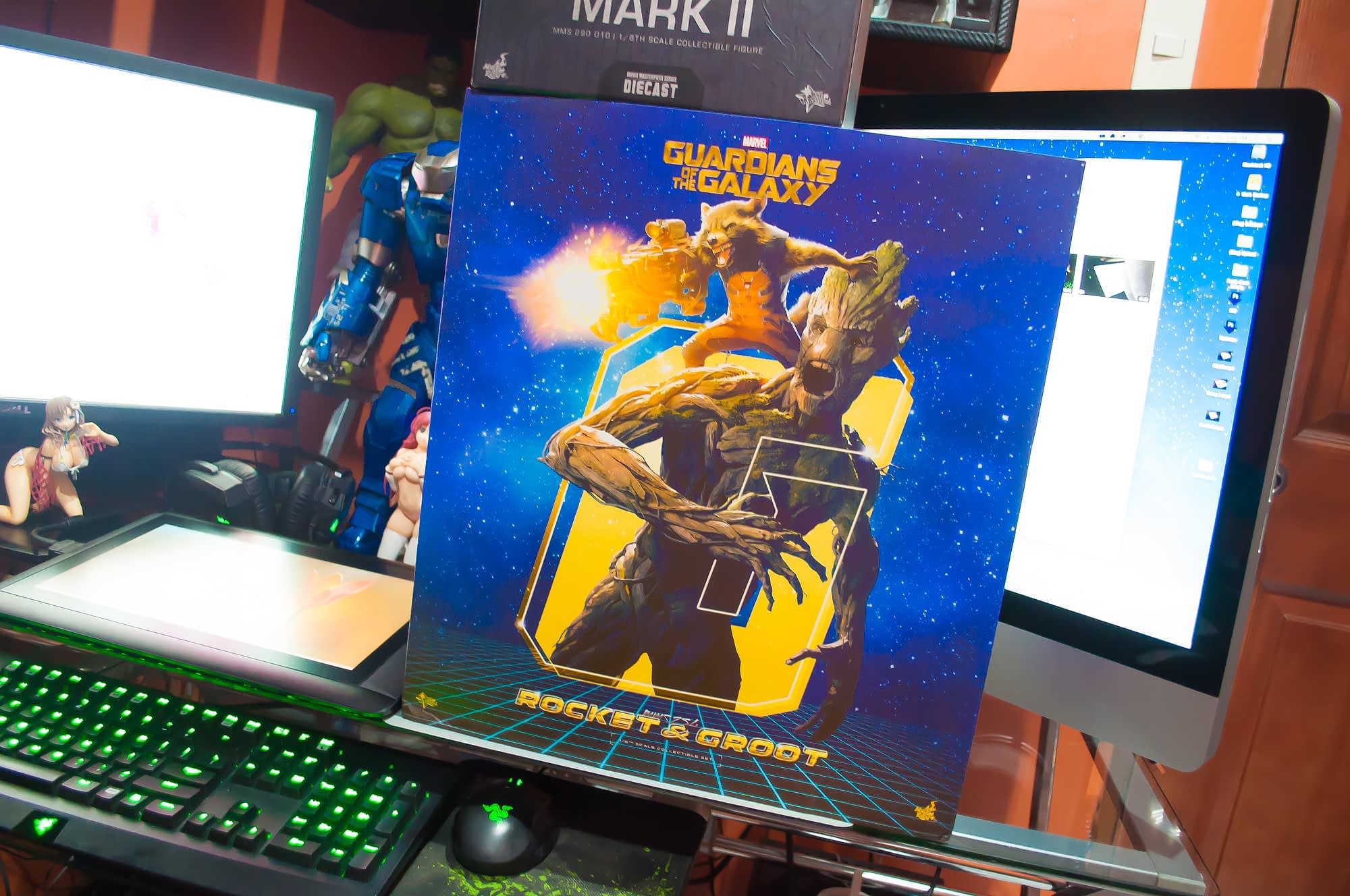 Loot Report - Rocket, Groot and Diecast Warmachine (A.O.U.) (2)