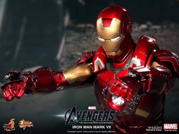 Preview | Hot Toys: Ironman Mark VII (15)