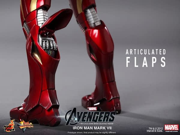 Preview | Hot Toys: Ironman Mark VII (2)