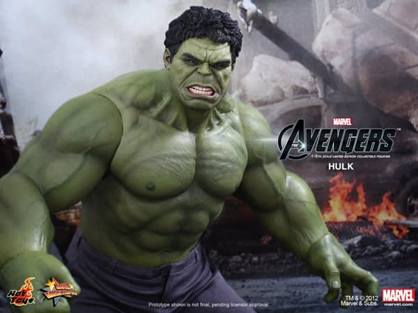 Preview   Hot Toys: Hulk (8)