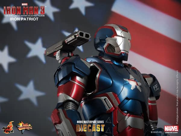 Preview | Hot Toys: Iron Patriot (DIECAST) (9)
