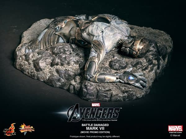 Preview | Hot Toys: Iron Man Mark VII (Battle Damaged Ver.) (9)