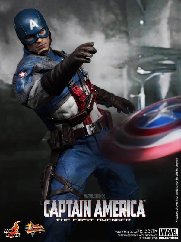 Preview   Hot Toys: Captain America (5)