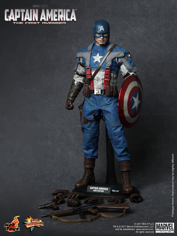 Preview   Hot Toys: Captain America (1)