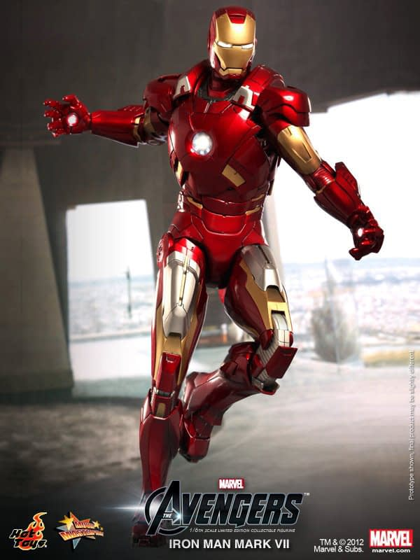 Preview | Hot Toys: Ironman Mark VII (9)
