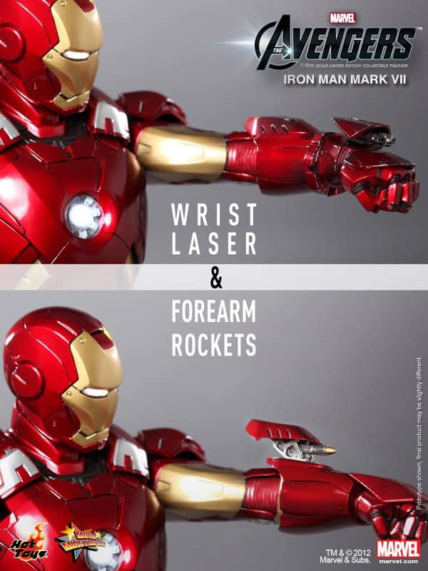 Preview | Hot Toys: Ironman Mark VII (3)