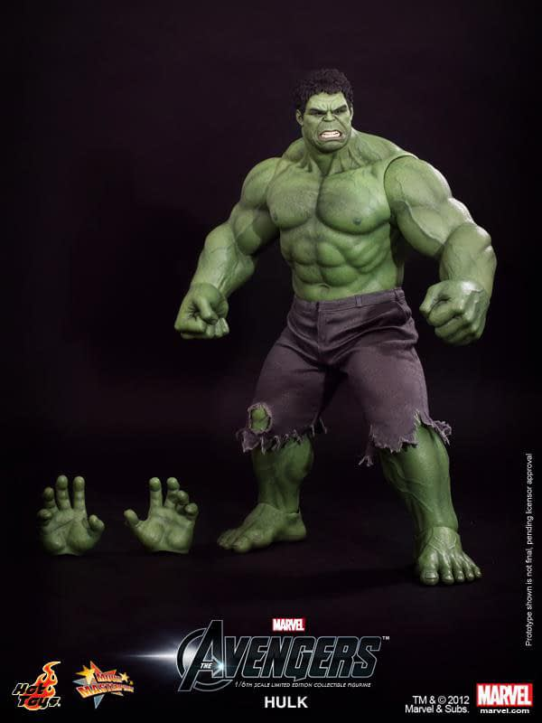 Preview   Hot Toys: Hulk (14)