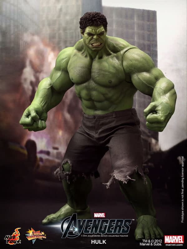 Preview   Hot Toys: Hulk (9)