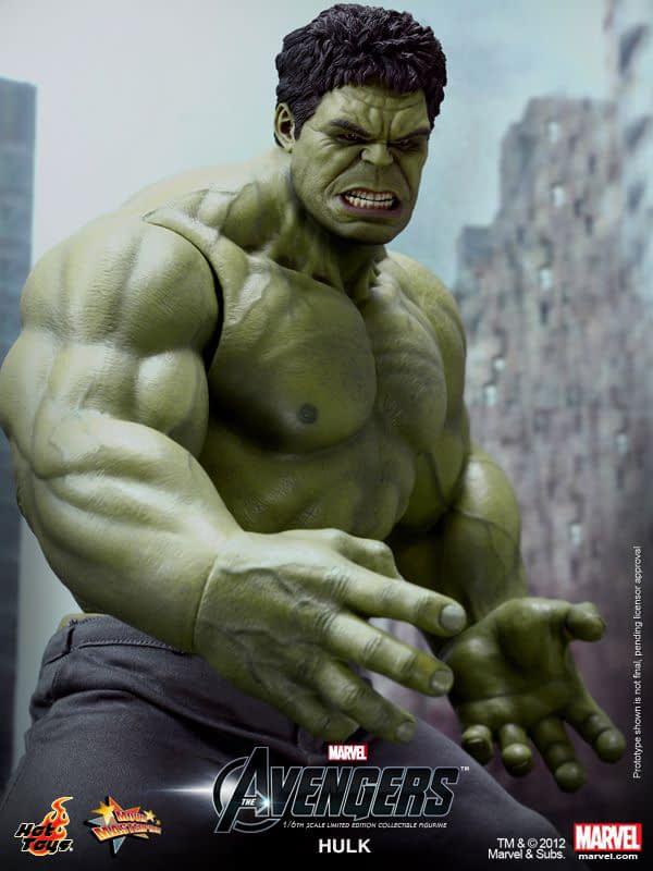 Preview   Hot Toys: Hulk (7)