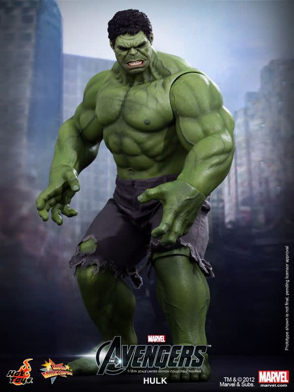 Preview   Hot Toys: Hulk (5)