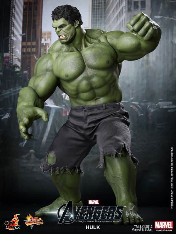 Preview   Hot Toys: Hulk (4)