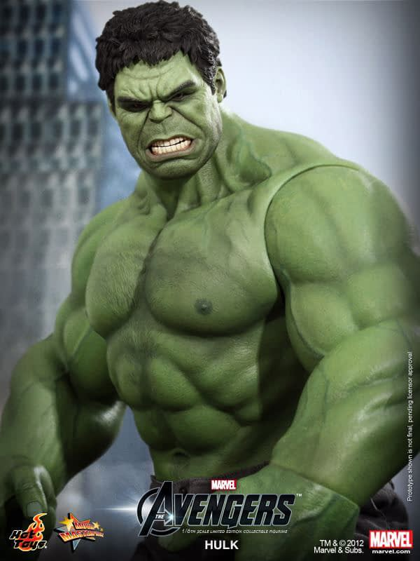 Preview   Hot Toys: Hulk (2)