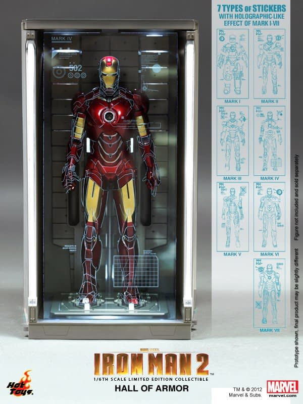 Preview | Hot Toys: Hall of Armor (5)
