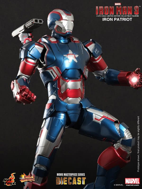 Preview | Hot Toys: Iron Patriot (DIECAST) (3)