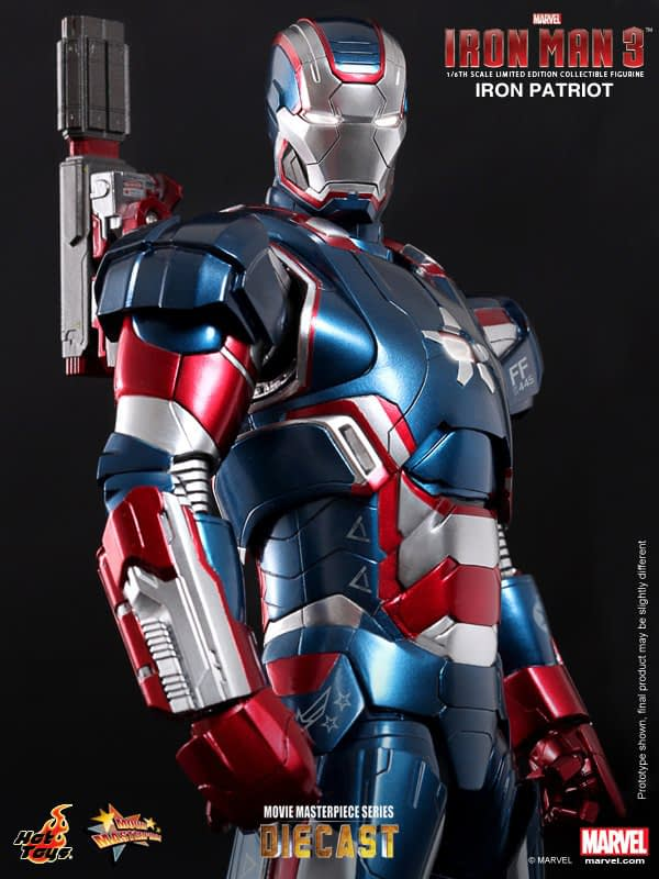 Preview | Hot Toys: Iron Patriot (DIECAST) (4)