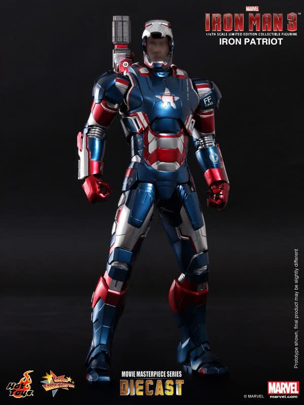 Preview | Hot Toys: Iron Patriot (DIECAST) (5)