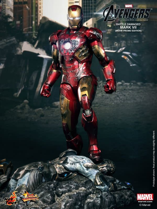 Preview | Hot Toys: Iron Man Mark VII (Battle Damaged Ver.) (1)