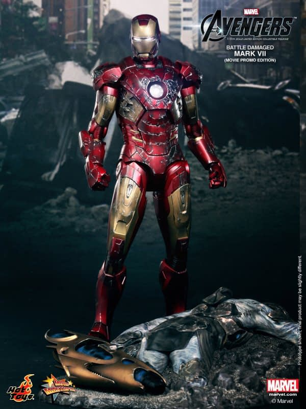 Preview | Hot Toys: Iron Man Mark VII (Battle Damaged Ver.) (2)