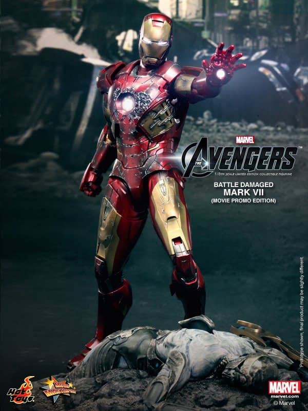 Preview | Hot Toys: Iron Man Mark VII (Battle Damaged Ver.) (3)