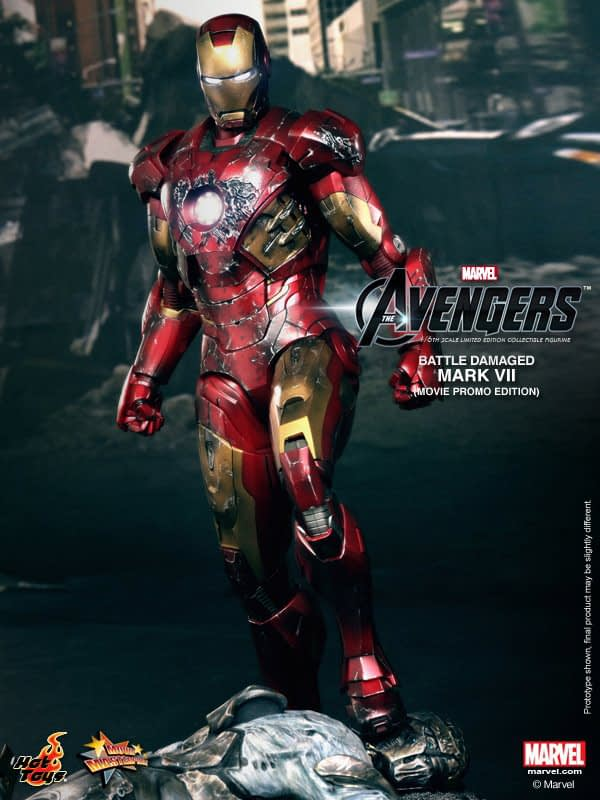Preview | Hot Toys: Iron Man Mark VII (Battle Damaged Ver.) (4)