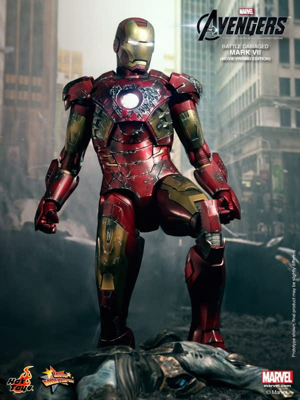 Preview | Hot Toys: Iron Man Mark VII (Battle Damaged Ver.) (7)