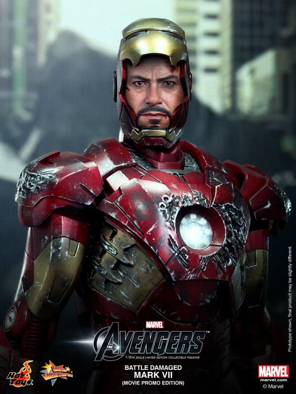 Preview | Hot Toys: Iron Man Mark VII (Battle Damaged Ver.) (8)