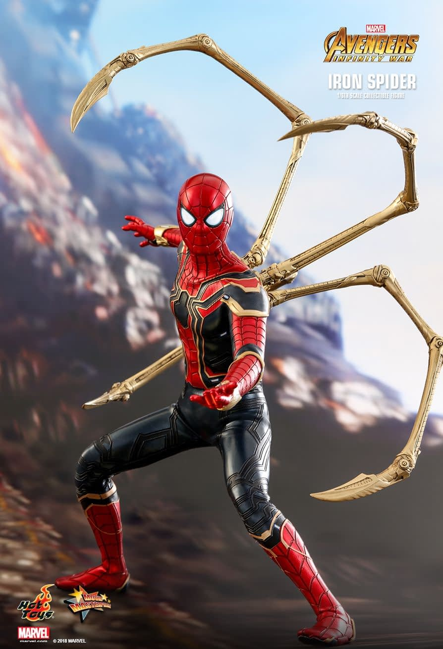 Hot Toys Iron Spider (Avengers: Infinity War)